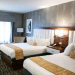 double queen beds room