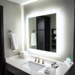 guest bathroom vanity